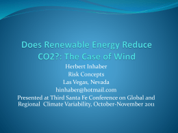 Does Renewable Energy Reduce Greenhouse Gases: The Case of