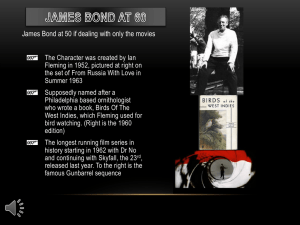 James Bond at 60 - TheDiskCoordinator