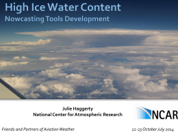 Julie Haggerty - NCAR Research Applications Laboratory | RAL