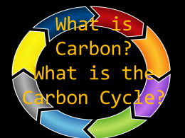 What is Carbon- Introductory Powerpoint