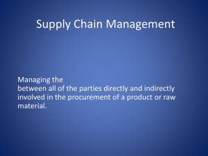 RFID & IT for Supply Chain Management