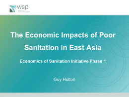 Economic impacts of sanitation in Southeast Asia