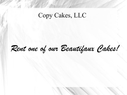 File - Copy Cakes, LLC