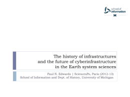 The History of Infrastructure and the Future of