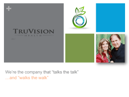 Power Point TruVision Health