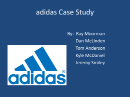 What enabled Adidas to be the Market Leader in