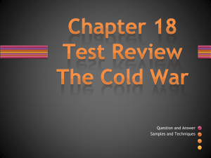 Chapter 18 Test Review PPT