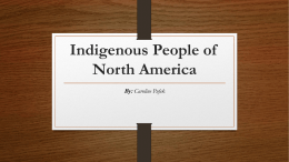Indigenous People of North America
