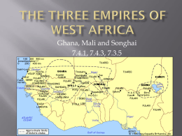 The Gold Empires of West Africa
