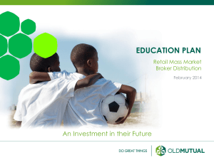 education plan - Home | OMBD