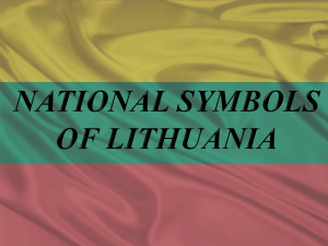 National symbols of Lithuania