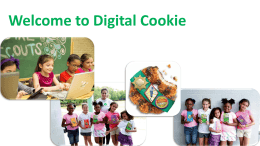 Welcome to Digital Cookie