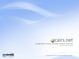cairs.net Overview - the cairs.net Learning Center!