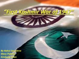Jammu & Kashmir PPT