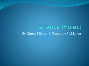 Science Project - Wikispaces - rms