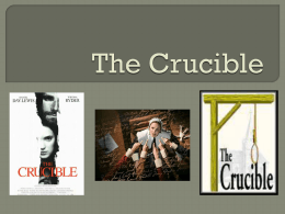 The Crucible - Frankfort-Schuyler Central School District