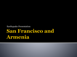 San Francisco and Armenia