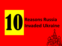 reasons for invading