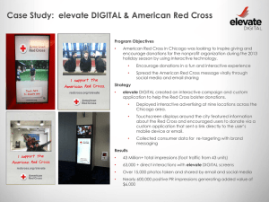 ELEVATE RED CROSS CASE STUDY