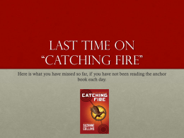 Catching Fire Synopsis