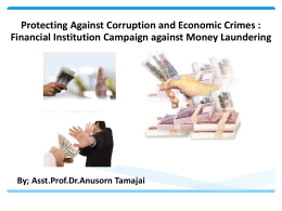 Anusorn_Protecting Against Corruption