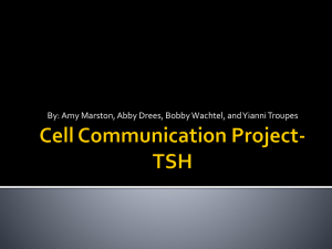 Cell Communication Project