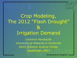 irrigation - Auburn University Environmental Institute