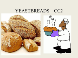 yeastbreads cc2 - Hinsdale Central High School