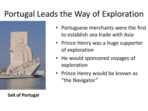 Portugal Leads the Way of Exploration