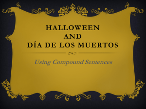 Halloween Compound Sentences