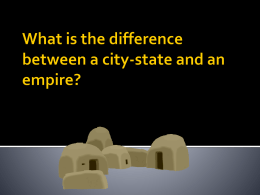 What is the difference between a city-state and an