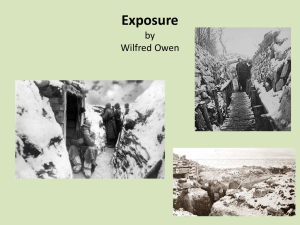 Exposure powerpoint - St Cuthbert Mayne GCSE English