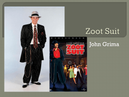 Zoot Suit - East Coast Armory