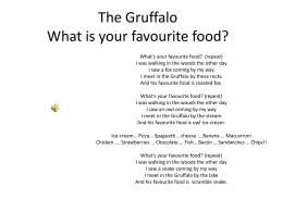 The Gruffalo - WordPress.com