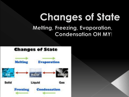 States of Matter Powerpoint 4.1