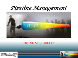Pipeline Management PPT