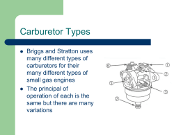 Carb. Types PP
