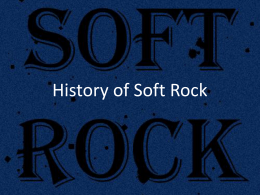 History of Soft Rock