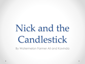 Nick and the Candlestick - EIS-J-IBA1