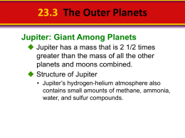 23.3 The Outer Planets