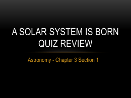 Chapter 3 Section 1 QUIZ REVIEW