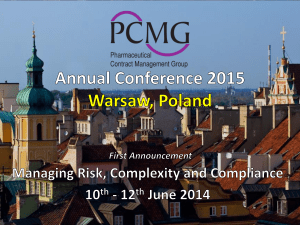 PCMG Annual Conference First Announcement