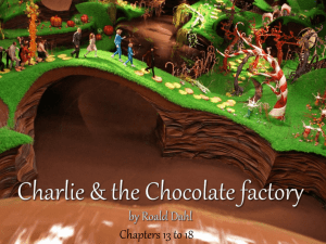chap 8 to 13 Charlie & the Chocolate factory