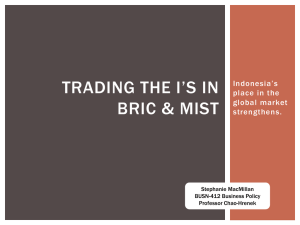 BRIC and MITSK Presentation