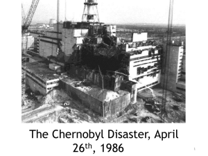 PowerPoint - Chernobyl Children`s Project