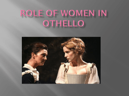 Role of women In Othello
