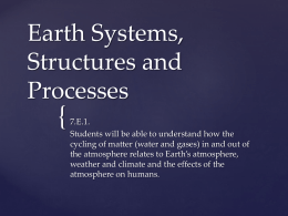 Earth Systems, Structures and Processes