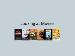 Looking at Movies - DPSSFilmAppreciation