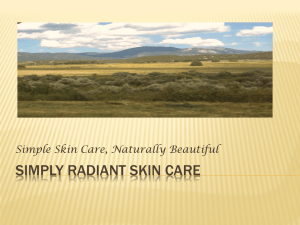 Simply Radiant Skin Care