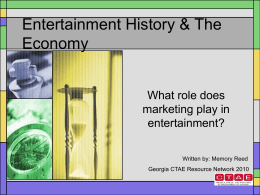 SEM_4_Entertainment History and Economics